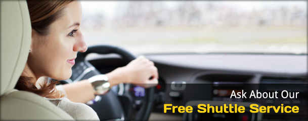 Ask About Our Free Shuttle Service