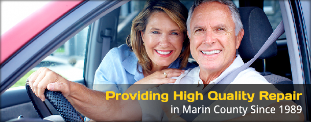 Providing High Quality Repair in Marin County Since 1989