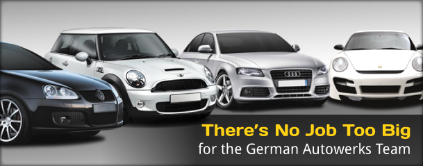 There's No Job Too Big for the German Autowerks Team
